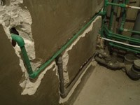 перенос труб на кухне Череповец